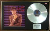 GARY NUMAN - LP Platinum disc & cover - DANCE